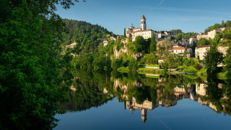 Albas Lot - La Borie Gites Holiday Accommodation Dordogne Lot France