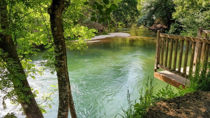 Céou River Swimming - La Borie Gites Holiday Accommodation Dordogne Lot France
