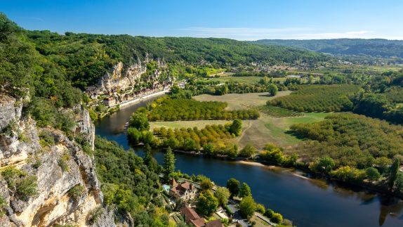 Dordogne Landscape - La Borie Gites Holiday Accommodation Dordogne Lot France