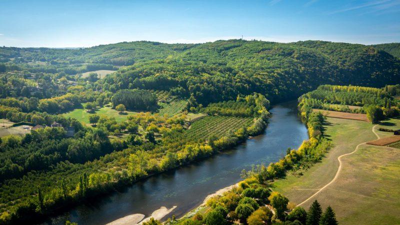 Dordogne River - La Borie Gites Holiday Accommodation Dordogne Lot France
