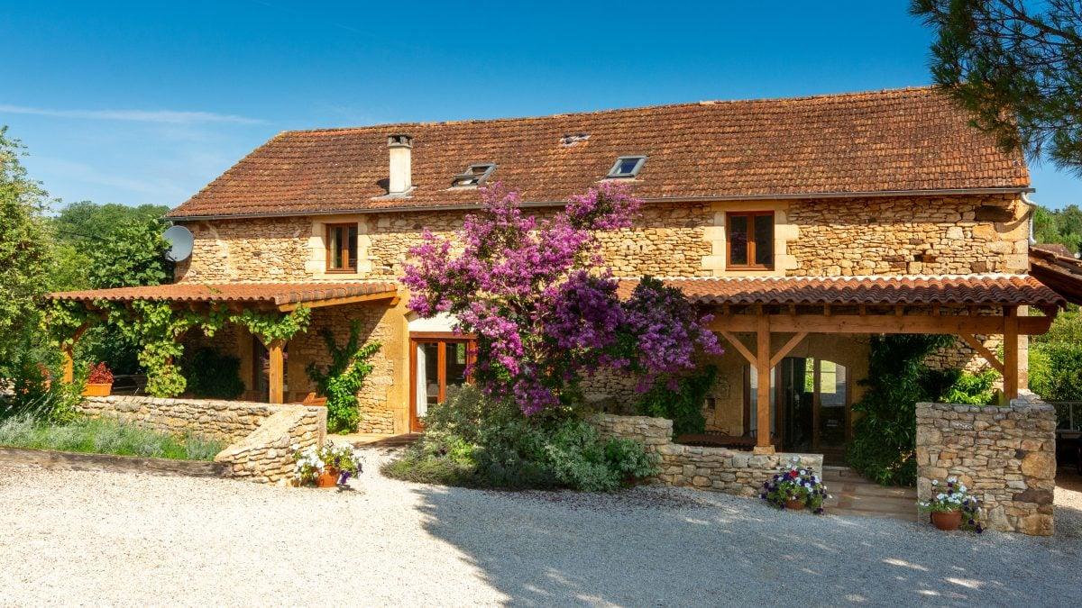 Gites Front 2020 - La Borie Gites Holiday Accommodation Dordogne Lot France