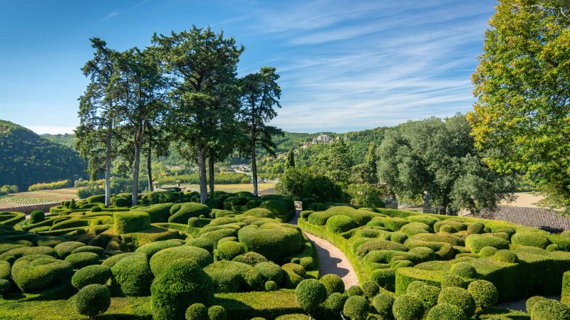 Les Jardins de Marqueyssac - La Borie Gites Holiday Accommodation Dordogne Lot France