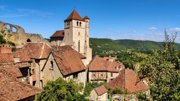 Saint Cirq Lapopie - La Borie Gites Holiday Accommodation Dordogne Lot France